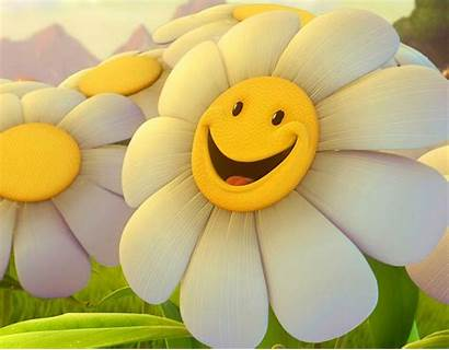 Happy Flower Wallpapers Smiley Yellow Background Happiness