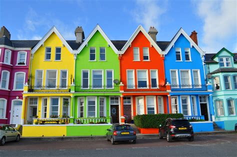 Colourful House by Primary Colours A Photo From Antrim Northern Ireland