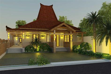 desain rumah etnik jawa modern rumah impian