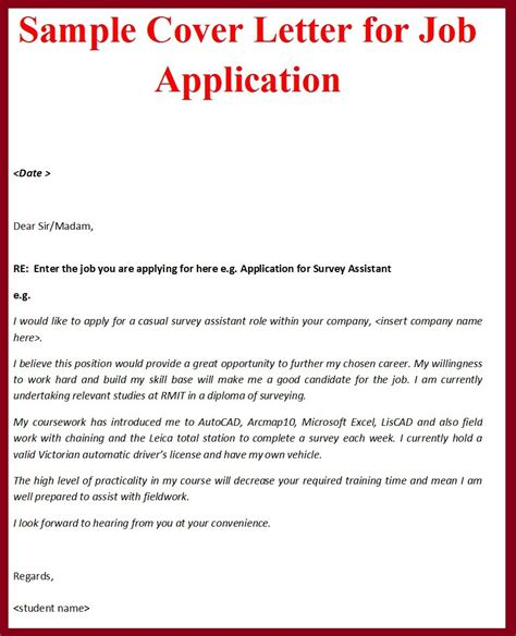 application letter writing format pdf best of sle cover