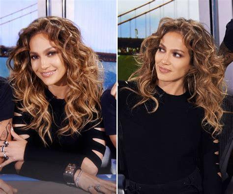 'american Idol' Judge Jennifer Lopez's Throwback