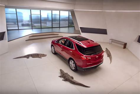 latest  equinox ad features cold blooded gators video