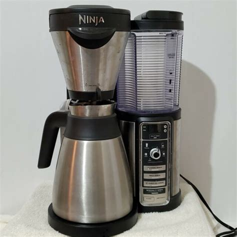 Recently, ninja coffee brewers have risen to prominence quite rapidly. Ninja Coffee Bar Hot Cold Specialty Brewer Model CF087. Clean Works Well. for sale online | eBay
