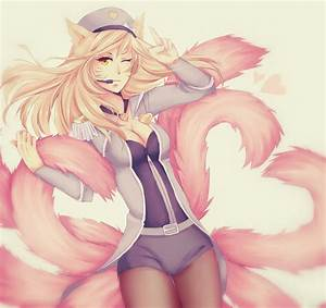 Popstar Ahri by Bakaruru on DeviantArt