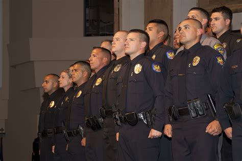Police Officers Reaffirm Their Oath Of Office