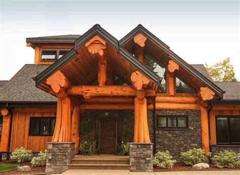 Artisan Log Homes  Handcrafted Canadian Custom Log Homes