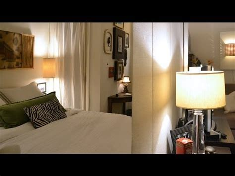 small space living  nyc studio apartment youtube
