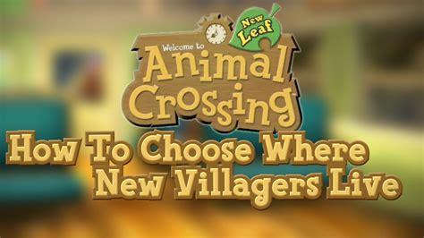 animal crossing  leaf   choose  villagers