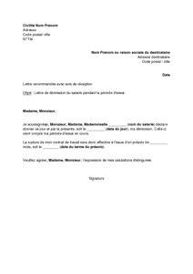 lettre de d 233 mission du salari 233 pendant la p 233 riode d essai mod 232 le de lettre gratuit exemple de
