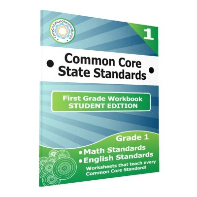 First Grade Common Core Workbook  Student Edition