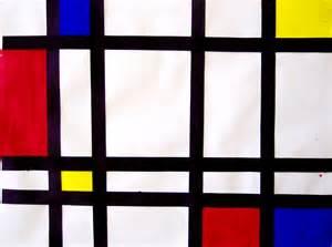 Art Piet Mondrian Paintings