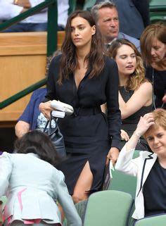 Irina Shayk and Bradley Cooper Wimbledon