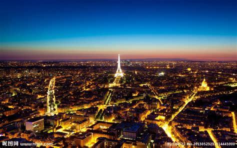 巴黎 夜景摄影图建筑摄影建筑园林摄影图库昵图网nipiccom