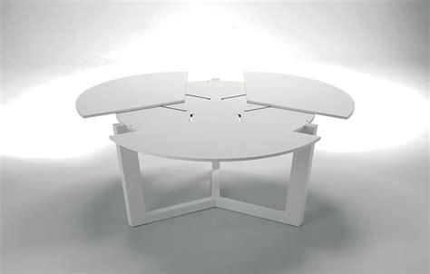 tavolo rotondo bianco allungabile tavoli rotondi allungabili dal design moderno mondodesign it