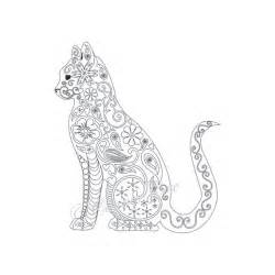 Adult Cat Coloring Pages to Print