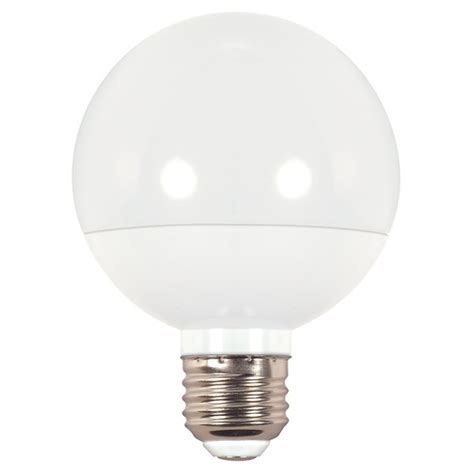 satco s9202 6w dimmable 4000k led g25 globe replacement