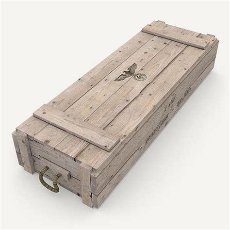 model german army crate cgtrader
