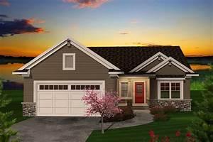 Ranch, Style, House, Plan, Ft, Plan