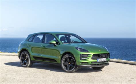 Green Car Electric by The Next Generation Of The Porsche Macan Compact Suv Will