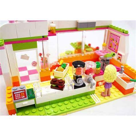 lego friends  bar dei frullati massa giocattoli