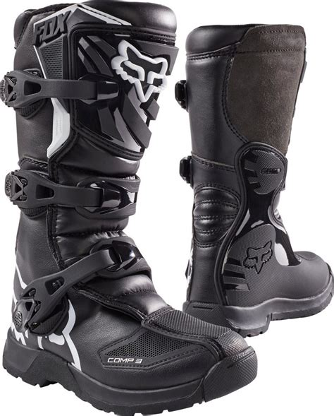 boys motorcycle riding boots 129 95 fox racing youth mx comp 3 boots 994623