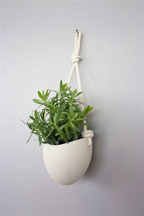 ceramic hanging planter 187 ceramic wall planters by light ladder
