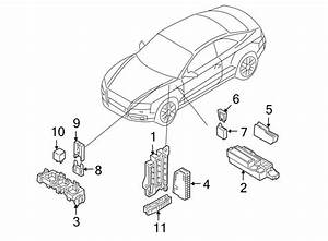 2017 Audi Q5 Fuse Box  Relay  U0026 Fuse Plt  Relay Box  Relay