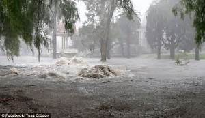 Geelong flooded into a disaster zone after thunderstorm ...