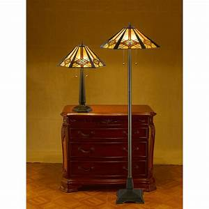 Mission style floor lamps when traditional meets for Mission style floor lamp with table