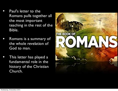 letter to the romans paul s letter to the romans