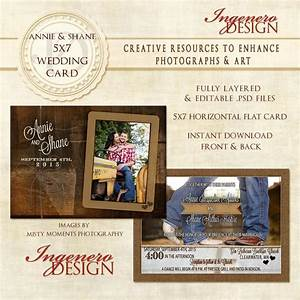 rustic wedding card country wedding card wedding photo With wedding invitation card size photoshop