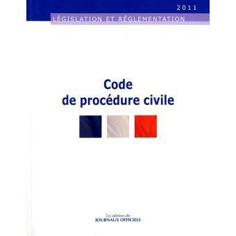 code de la procedure civile brochure edition au