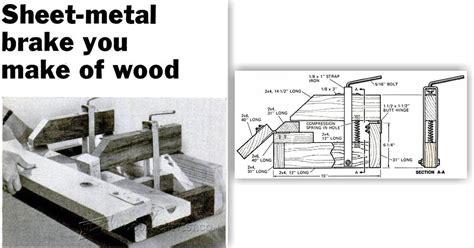 louvered pocket door sheet metal brake plans woodarchivist
