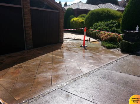 driveway resurfacing new permeable paving