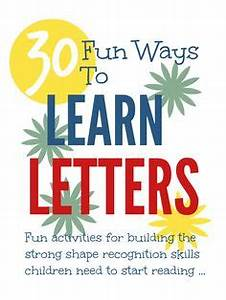 abc39s and name recognition on pinterest letter of the With fun in your name letters