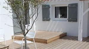 terrasse relooking deco et amenagement pour l39exterieur With meuble cuisine petit espace 17 carrelage balcon de luxe escalier exterieur pierre