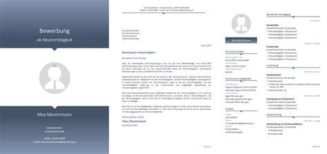 Bewerbungsvorlagen Kostenlos by Bewerbung Muster Vorlagen Kostenlos Herunterladen