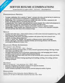 types of combination resumes combination resume sles resume companion