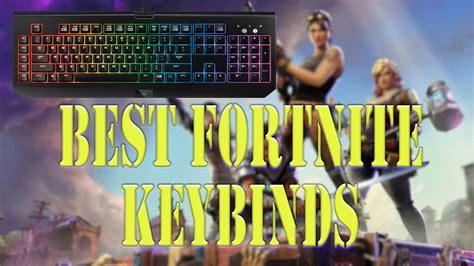 fortnitepc keybinds improve  game youtube