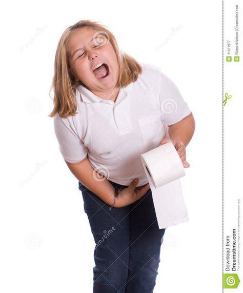 Girl Sick Diarreah Toilet Just Bcause