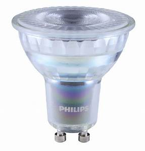 Philips Led Gu10 Dimmbar : philips corepro led spot gu10 led 4 6 50w dimmbar glas 3000k ~ Orissabook.com Haus und Dekorationen