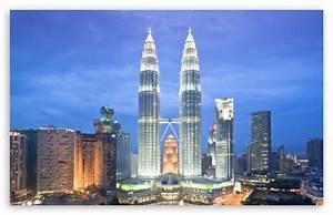 Petronas Towers, Kuala Lumpur, Malaysia 4K HD Desktop ...