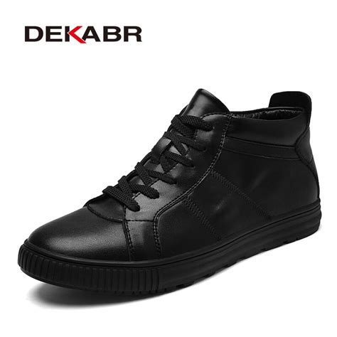 Dekabr New Men Boots Fashion Casual High Quality Shoes