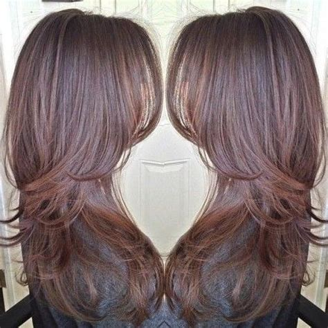 ideas  long hairstyles  lots  layers