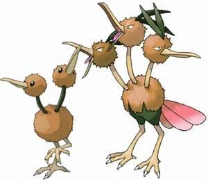 Pokemon Doduo Evolve Images | Pokemon Images