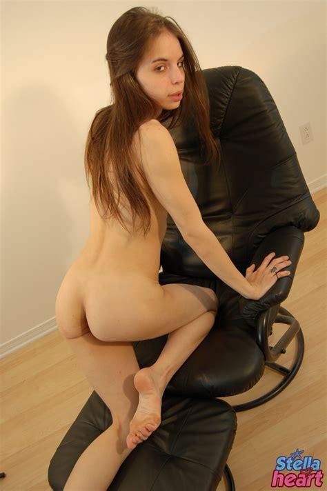 Stella Heart Skinny Teen Goes Nude