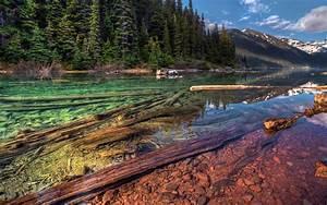 Mountain river HD Desktop Wallpaper