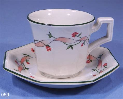 Johnson Bros Eternal Beau Coffee Cup and Saucer: Collectable China