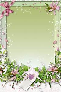 11 White Flower Frames Psd Images - Freeze-drying, Flowers ...