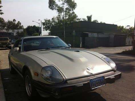 Sell Used 1982 Datsun 280zx Turbo In Los Angeles